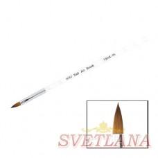 Кисть для акрила витая ручка №6