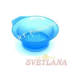 Миска для покраски круглая 522С голубая
