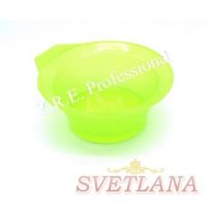 Миска для покраски круглая 522С желтая