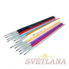 Набор кистей 12шт для рисования цветная ручка 000#