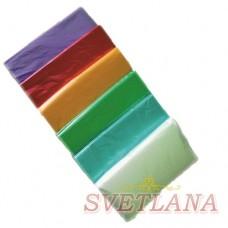 Пеньюар одноразовый 50шт цветной